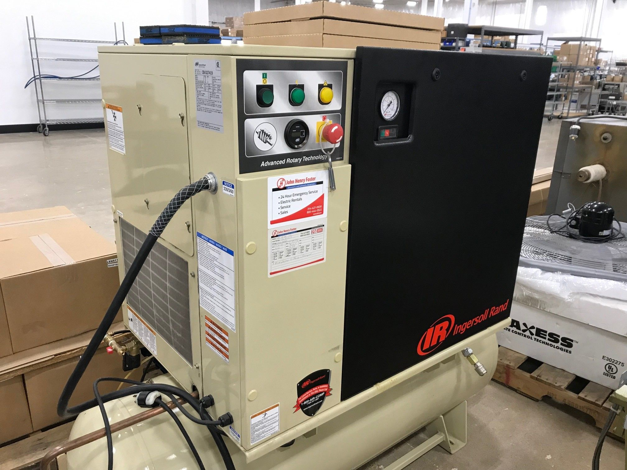 INGERSOLL Rotary Screw Compressor