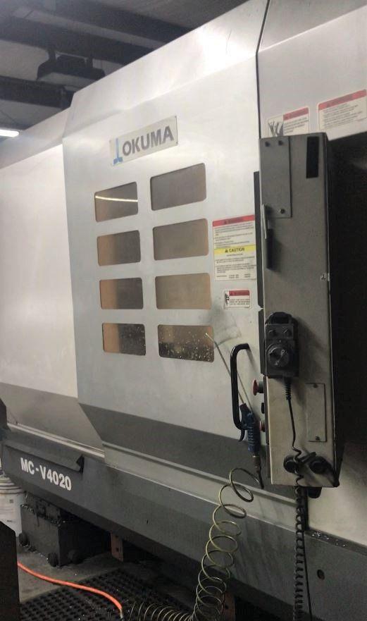 OKUMA MCV4020