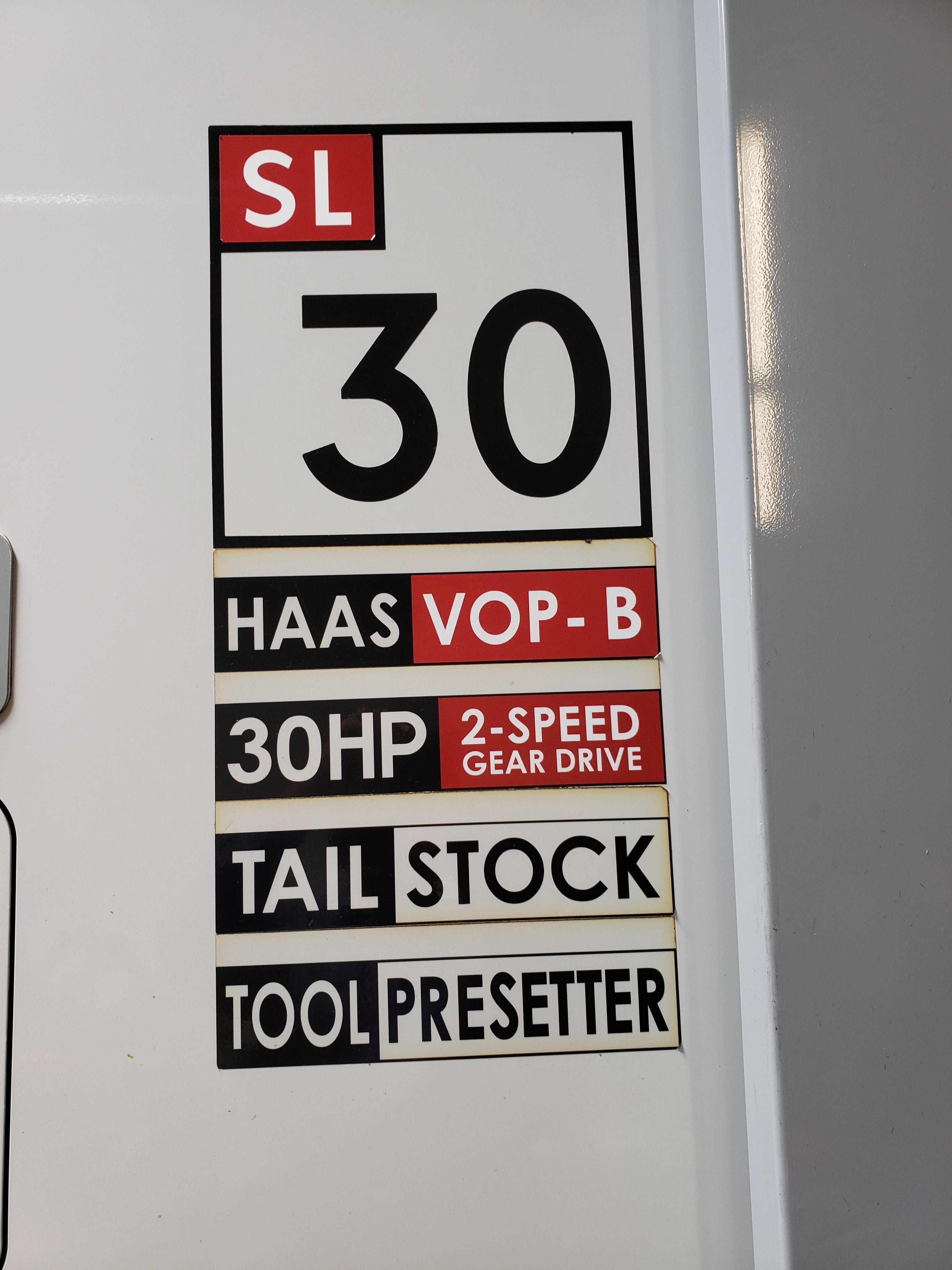 HAAS SL30