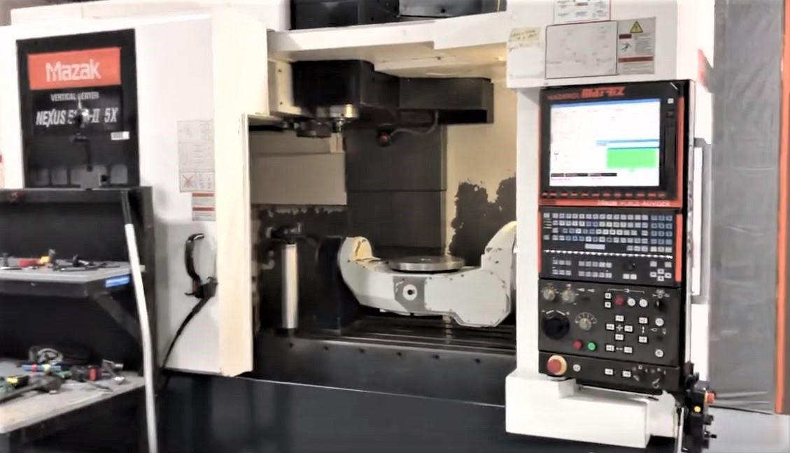 MAZAK VCN510C-II 5X