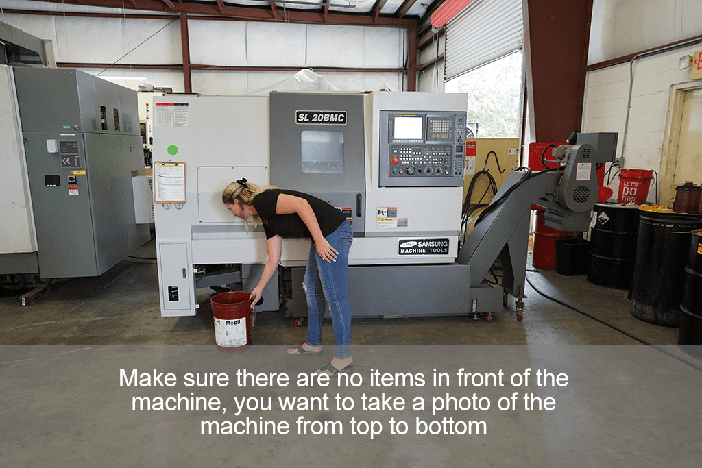 How to take photos of your CNC Machine Step 3