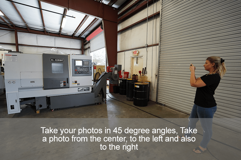 How to take photos of your CNC Machine Step 6