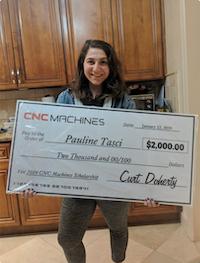 Scholarship Winner 1